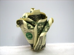 Букет из денег