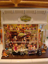 Miniature Powells sweet shoppe