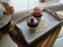 Cherry on a cupcake