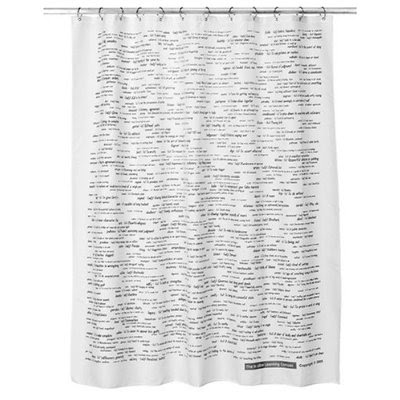Tattoos Flower Funny Shower Curtains