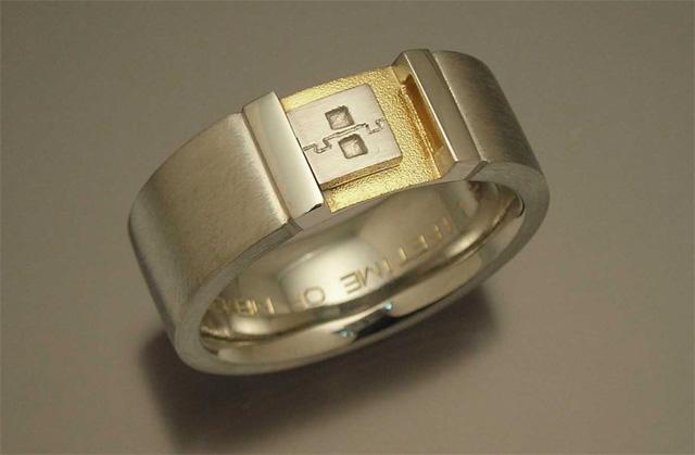 Gear Wedding Bands 64 Cute USB Ring