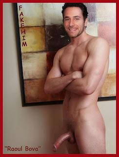Hunks Male Celebs Fakes Fake Nudes Raoul Bova