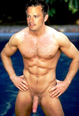 Carmine dease naked
