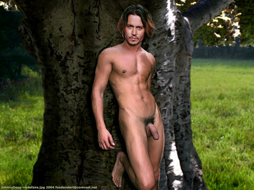 sexy johnny depp naked