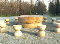 Constantin Brancusi - The Silence Table / Masa Tacerii - Targu Jiu - Romania