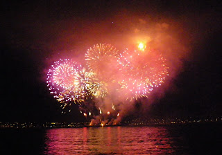 Vancouver's Celebration of Light 2010 - Second Night - the Spain's magnificent show