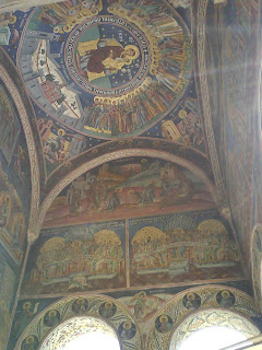 Horezu Monastery paintings, Romania, UNESCO Patrimony