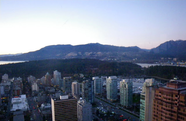 Vancouver - view from Empire Landmark tower