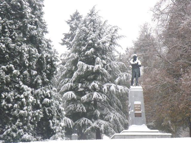 Robert Burns statue, Stanley Park, Vancouver