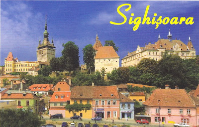 Sighisoara (postcard) -Cultural Site on the List of World Heritage Sites