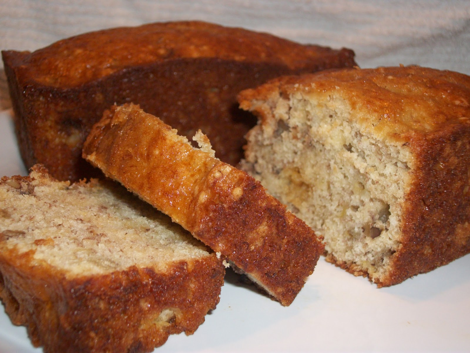 Banana Nut Bread Using Yellow Cake Mix