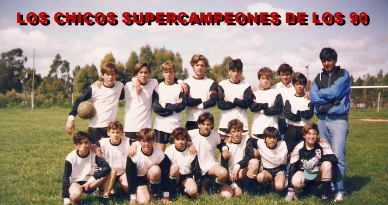 LOS CHICOS SUPERCAMPEONES DE LOS 90
