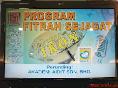 Program Fitrah Sejagat Penyampai Ikon 2009