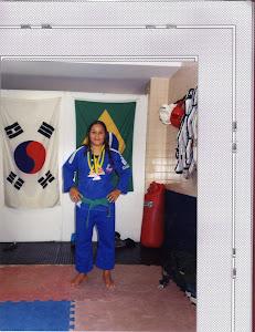 Menara 3 medalhas na Copa SESC Belo Horizonte