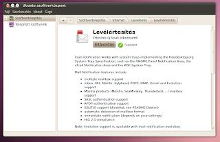 Mail notification Ubuntu