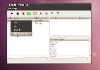 webradio ubuntu
