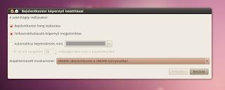rendszer beállítás ubuntu