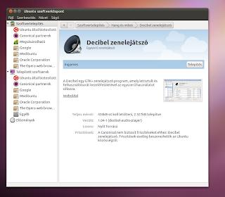 Zenelejátszó Ubuntu Linuxon