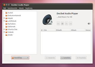 zenelejátszó Ubuntu