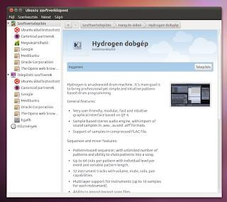 dobgép Ubuntu Linux