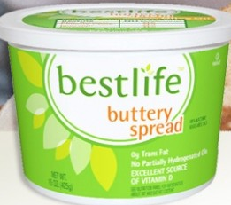 free bestlife buttery spread
