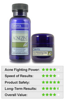 Acnezine - smoking acne treatment