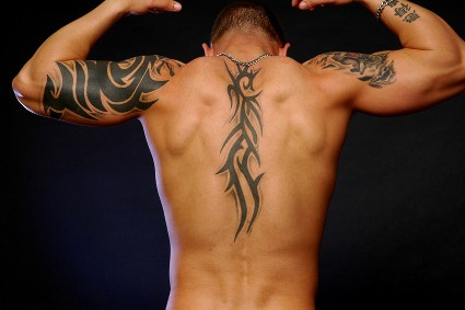 celtic tribal lower back tattoos. Upper back tattoo is one of the most