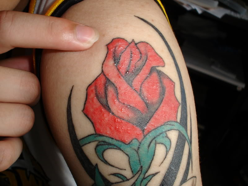 From temporary to contemporary, a single bud or full sleeve, rose tattoo