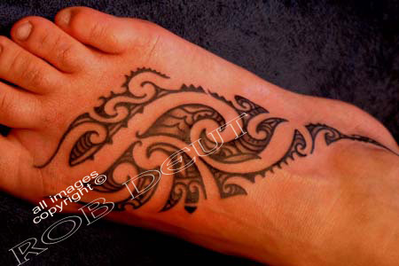 flower tattoo designs on foot. tattoo designs for feet.