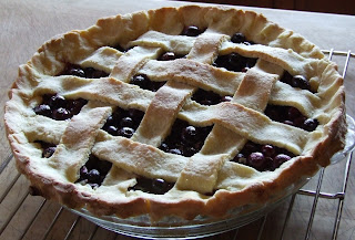 Queen of the Meadow: Gluten Free Blueberry Pie