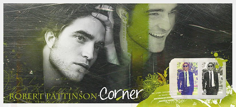 Robert Pattinson Corner