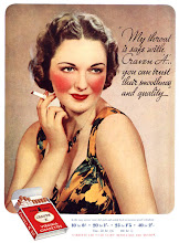 Vintage Smoking Ad