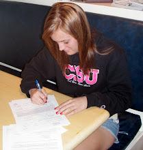 Taylor signing NLI