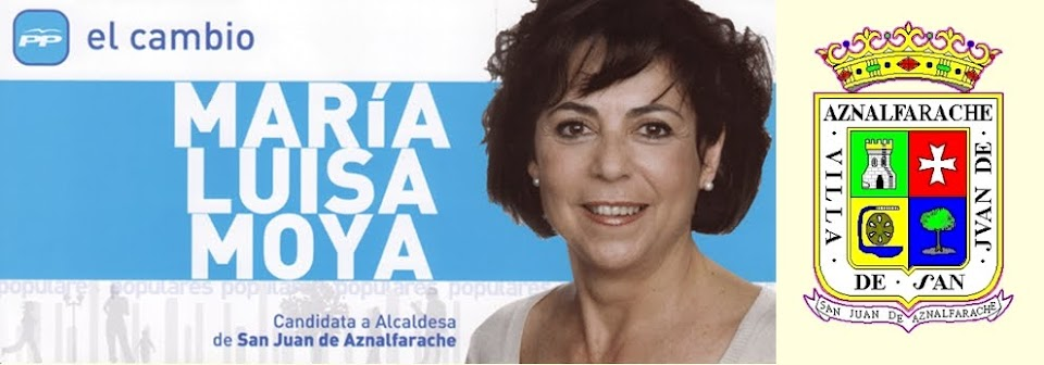Maria Luisa Moya candidata