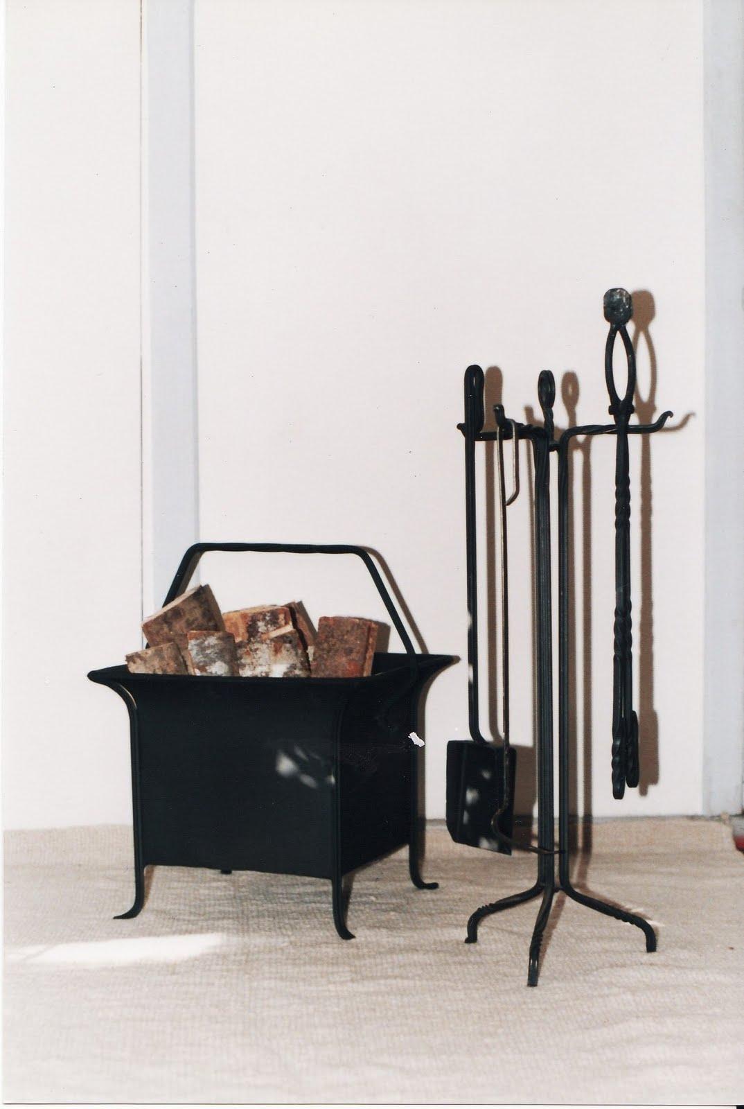 Taller de forja montecino accesorios chimenea - Accesorios para chimeneas ...