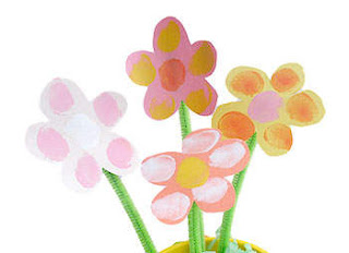 Fingerprint flower