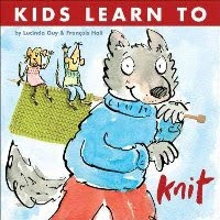 Kids Learn to Knit cover