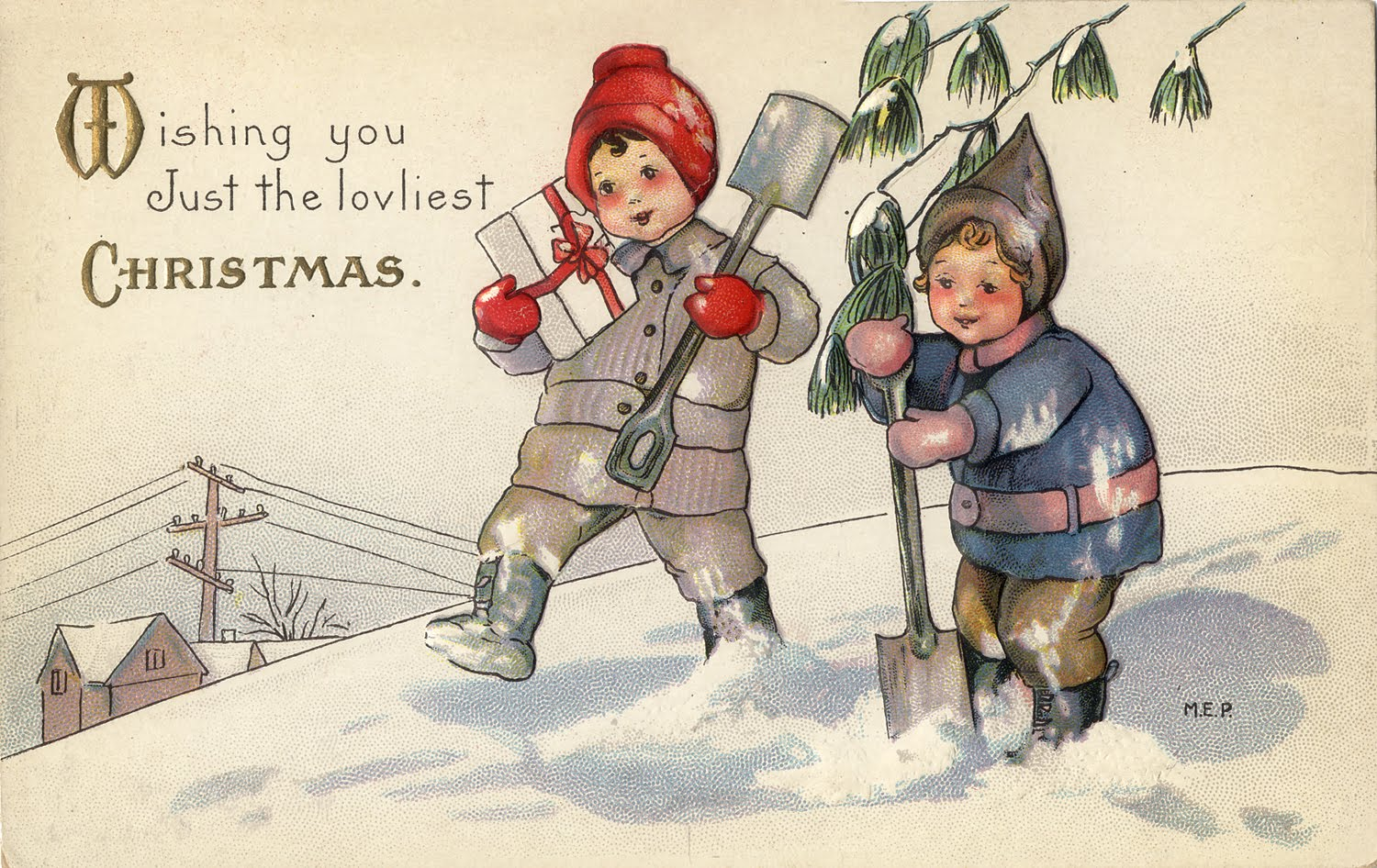 Christmas Greetings, Vintage Style! - Thoughts from an Evil Overlord