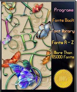 FontMan AIO 2010 (65000 special Fonts + Full Programs)
