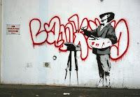 banksy artistic vandilism