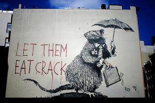 banksy let them eat crack