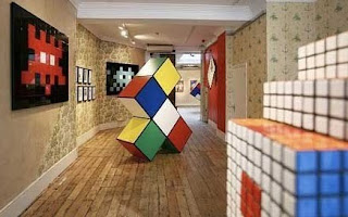 space invader rubicks cube