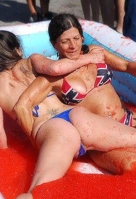 jello jello wrestling. reply