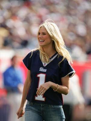 Patriots Fan Heidi Klum