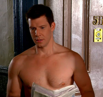 Eric Mabius Shirtless