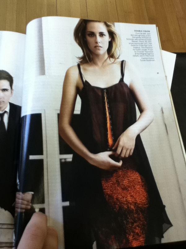 WEIRDLAND: Kristen Stewart on the cover of Vogue, February ...