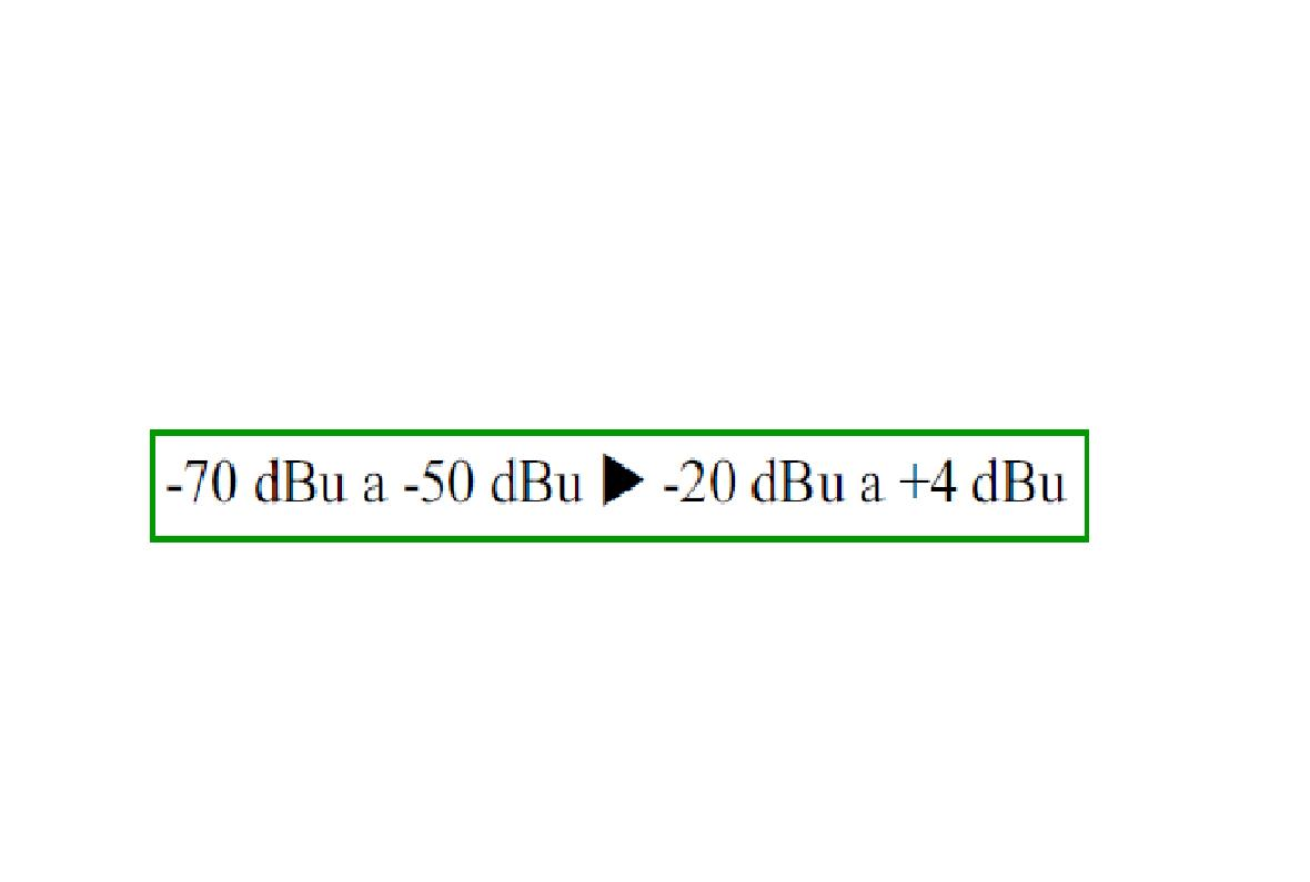 distorsion cruce audio: