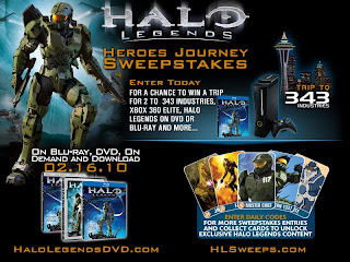 Halo Legends Contest