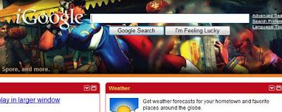 iGoogle Street Fighter IV Theme