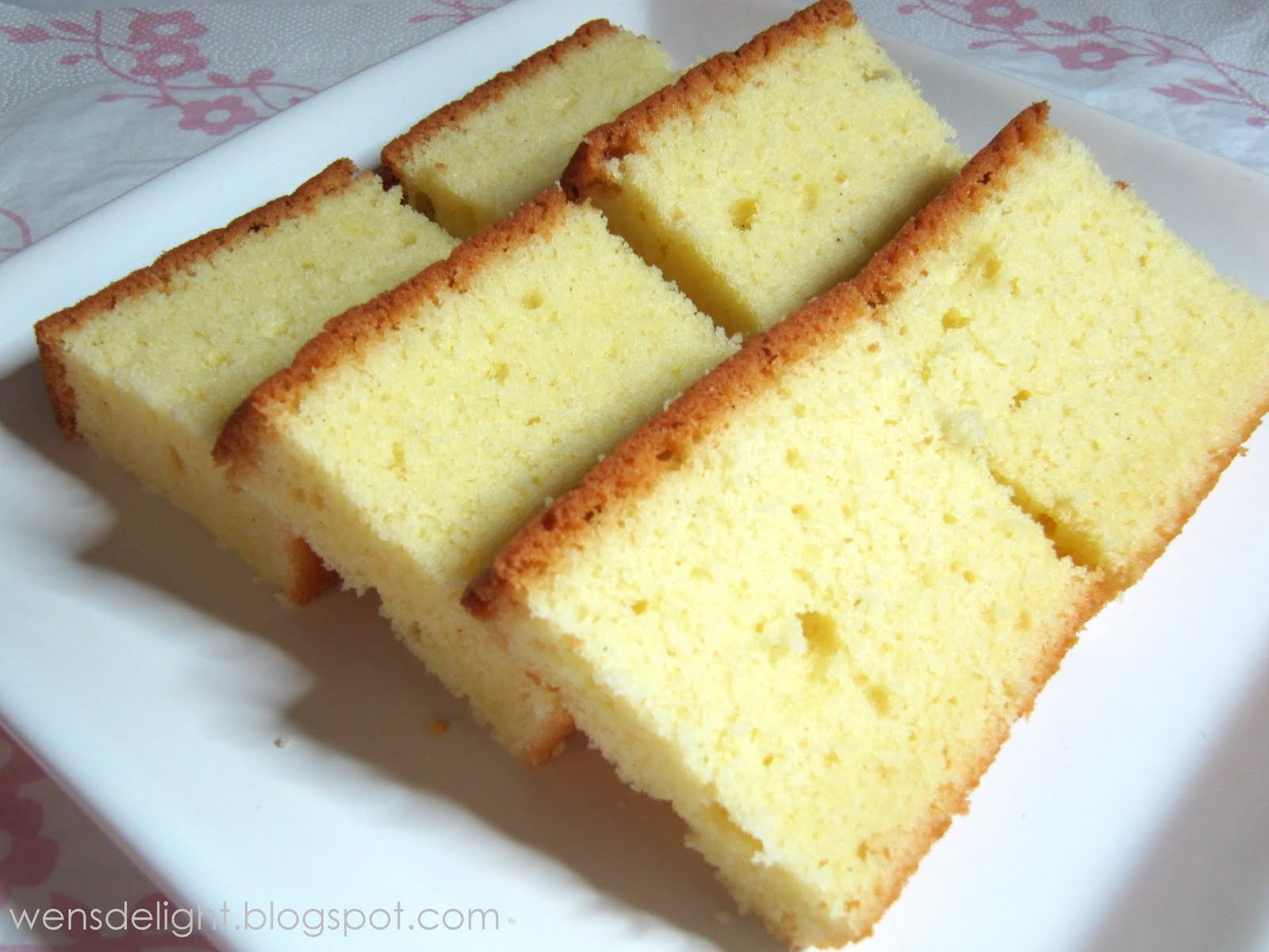 Wen s Delight: A Nice Butter Cake Recipe